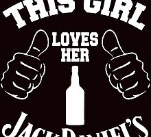 this girl loves her jack daniels by teeshirtz