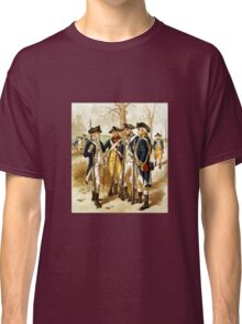 Infantry Of The Revolutionary War Classic T-Shirt