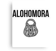 alohomora - harry potter spell [colour] Canvas Print