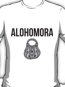 alohomora - harry potter spell [colour] T-Shirt