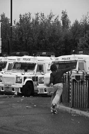 Riot in Belfast by fatty-arbuckle
