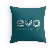 Evo Corporation Throw Pillow