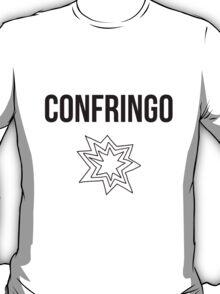 confringo - harry potter spell [monochrome] T-Shirt