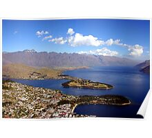 Queenstown, The Remarkables. Poster