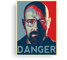 Walter White For President Canvas Print