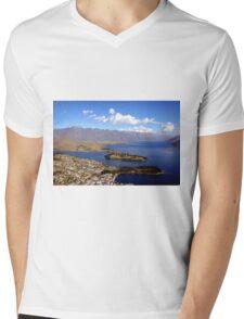 Queenstown, The Remarkables. Mens V-Neck T-Shirt