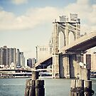 View of Manhattan and Brooklyn Bridge by Claire Penn