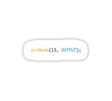 pinMode 13 Sticker