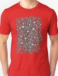 Tangled Up In Bicycles Unisex T-Shirt
