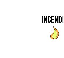 incendio - harry potter spell [colour]  by underscoree