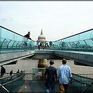 Amazing London - MILLENNIUM BRIDGE - UK by Daniela Cifarelli