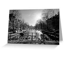 Amsterdam seduction Greeting Card