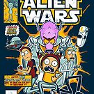 Alien Wars by Scott Weston