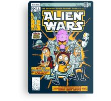 Alien Wars Metal Print
