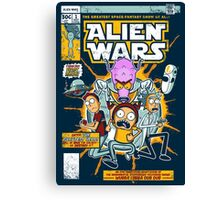 Alien Wars Canvas Print