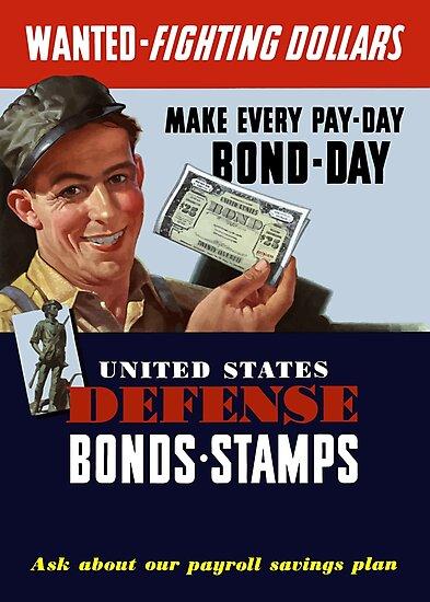 Wanted - Fighting Dollars - WW2 by warishellstore