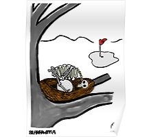 Golf Ball. Poster