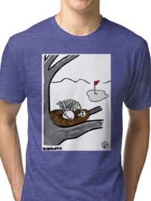 Golf Ball. Tri-blend T-Shirt