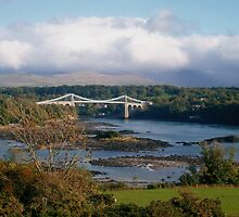 Menai Suspension Bridge, North Wales, UK by Michaela1991