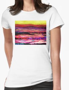 Smoky Mountain Foothills Womens Fitted T-Shirt