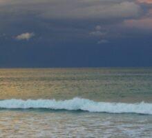 Apollo Bay - clouds across the ocean Sticker