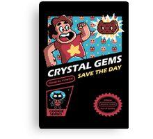 Crystal Gems Canvas Print