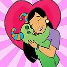 Happy valentines day...monster hug by mylittlenative