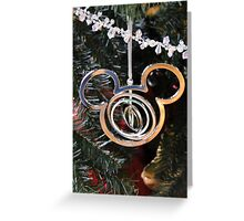 A Merry Mickey Christmas Greeting Card