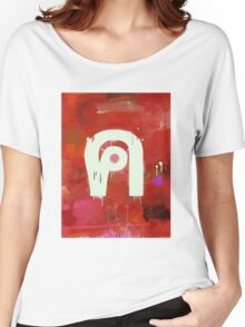 """Thai Characters """"ค"""" Women's Relaxed Fit T-Shirt"""