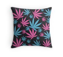 marijuana Throw Pillow