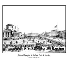 Funeral Obsequies Of The Late Pres't A. Lincoln by warishellstore