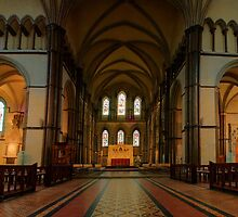 Rochester Cathedral Sanctuary and Quire Transcepts HDR by Dave Godden