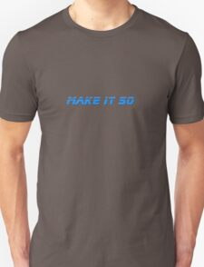 Make It So - Star Trek Top - Captain Picard - T-Shirt T-Shirt