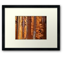 Christmas Abstract Framed Print