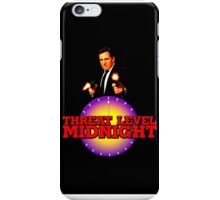 Threat Level: Midnight iPhone Case/Skin