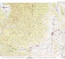 USGS Topo Map Oregon Yamhill River 283130 1980 100000 by wetdryvac