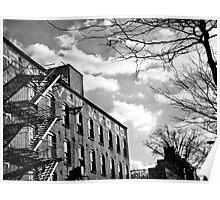 Brooklyn Warehouse Poster