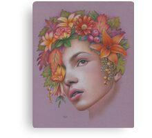 Goddess of Autumn Canvas Print