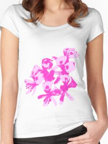Wildflower Women's Fitted Scoop T-Shirt