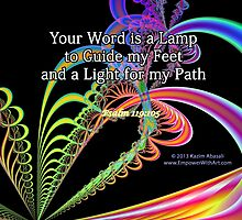 Your Word Is A Lamp by Kazim Abasali