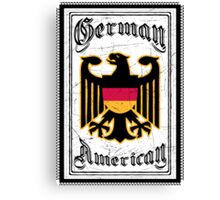 German American Canvas Print