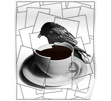 CoffeeCup and Crow 4 Poster