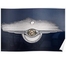 CarSnow: Stainless on Blue Poster