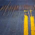 Double Yellow Line by Randall Nyhof