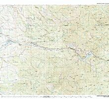 USGS Topo Map Oregon North Santiam River 283110 1983 100000 by wetdryvac