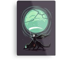 Little Reaper Metal Print