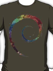 Colorful Debian T-Shirt