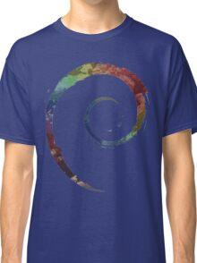 Colorful Debian Classic T-Shirt