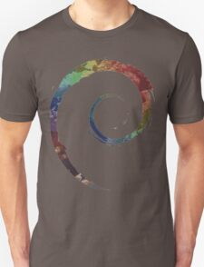 Colorful Debian T-Shirt