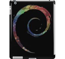 Colorful Debian iPad Case/Skin